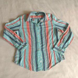 Serape Button Down Shirt